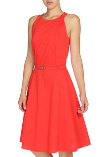 Приталенное платье расклешенное к низу Blacky Dress