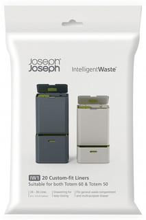Пакеты для мусора, 20шт. Joseph Joseph