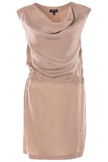 Полуприлегающее платье без рукавов Emporio Armani
