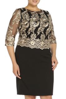 Комплект: платье, блузка Asil