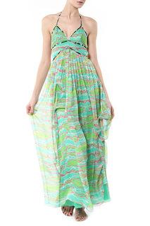 Длинное платье с принтом Matthew Williamson