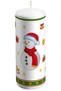 """Свеча """"Снеговик"""" Mister Christmas"""