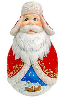 Неваляшка Дед Мороз Mister Christmas