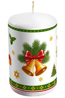 """Свеча """"Колокольчики"""" Mister Christmas"""