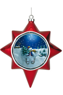Композиция Снеговик Mister Christmas