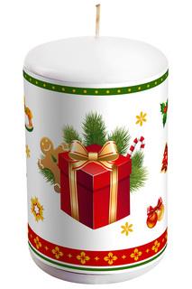 "Свеча ""Подарок"" Mister Christmas"