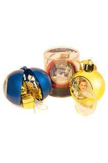 Елочный шар с рамкой Mister Christmas