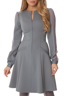 Классическое платье с карманами Gloss