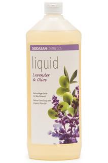 Жидкое мыло лаванда-олива, 1 л Sodasan