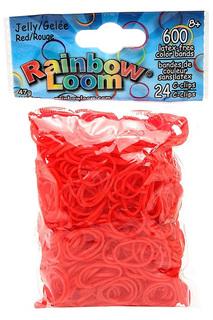 Резинки гелевые RAINBOW LOOM