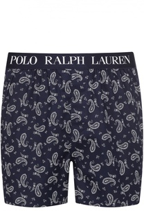 Хлопковые боксеры свободного кроя Polo Ralph Lauren