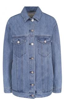 Джинсовая куртка с контрастной отделкой на спинке Etre Cecile
