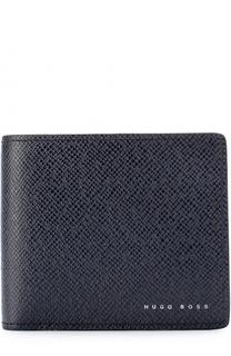 Кожаное портмоне с отделениями для кредитных карт BOSS