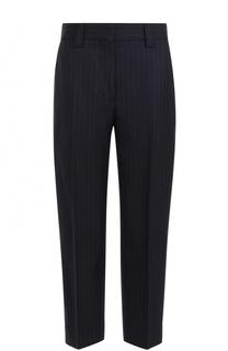 Укороченные шерстяные брюки со стрелками Acne Studios