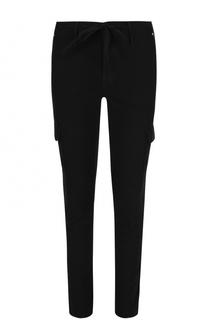 Хлопковые брюки карго с поясом на кулиске RTA
