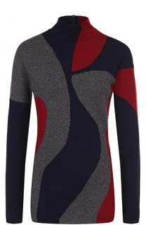 Приталенный шерстяной свитер Victoria Beckham