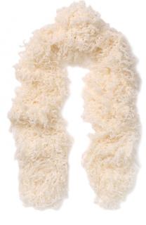 Вязаный шарф из смеси шерсти и мохера Missoni