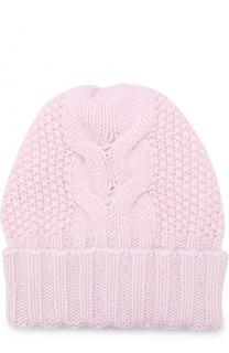Кашемировая шапка фактурной вязки Kashja` Cashmere