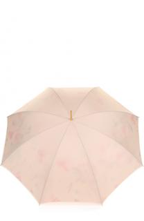 Зонт-трость с кристаллами Swarovski на ручке Pasotti Ombrelli