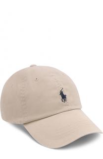 Хлопковая бейсболка Polo Ralph Lauren