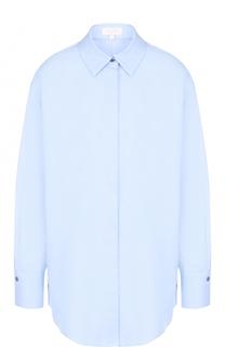 Хлопковая блуза свободного кроя Escada Sport