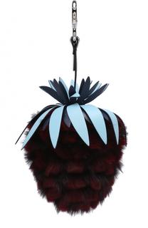 Подвеска Fruits из меха кролика Fendi