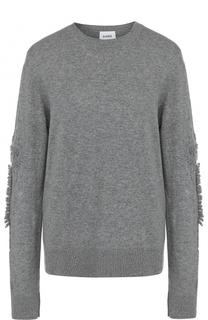 Кашемировый пуловер с круглым вырезом Barrie