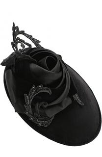 Шляпа с декором в виде цветка Philip Treacy