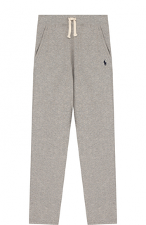 Спортивные брюки с логотипом бренда Polo Ralph Lauren