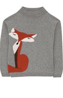 Кашемировый свитер с принтом Loro Piana