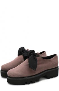 Замшевые ботинки Fabula с внутренней отделкой из овчины Walter Steiger