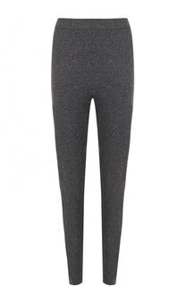 Кашемировые брюки-скинни Escada