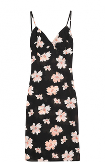 Приталенное платье-миди с цветочным принтом Joseph