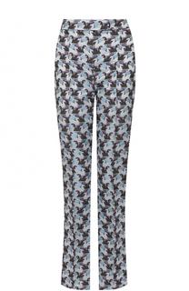 Расклешенные брюки со стрелками и принтом Mary Katrantzou