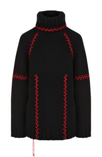 Кашемировый свитер с высоким воротником Alexander McQueen