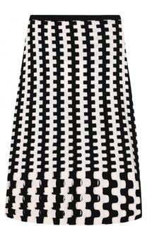 Вязаная шерстяная юбка-миди Diane Von Furstenberg