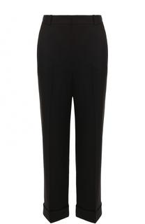 Укороченные брюки из смеси кашемира и шелка Loro Piana