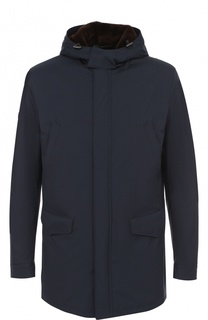 Куртка на молнии с меховой подкладкой Loro Piana