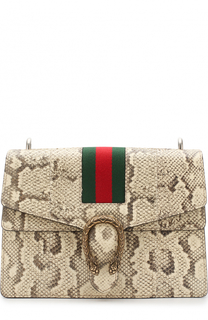 Сумка Dionysus medium из кожи питона Gucci