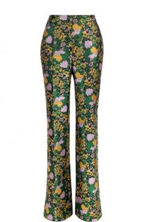 Расклешенные брюки со стрелками Erdem