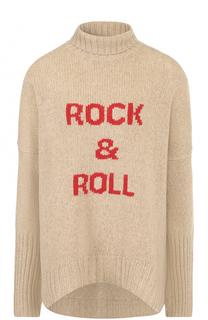 Шерстяной свитер свободного кроя с высоким воротником Zadig&Voltaire Zadig&Voltaire