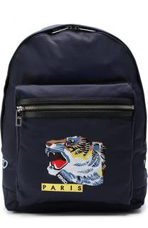 Текстильный рюкзак с аппликацией Kenzo
