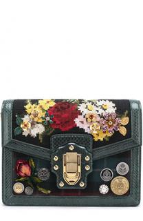 Сумка Lucia с декоративной отделкой Dolce & Gabbana