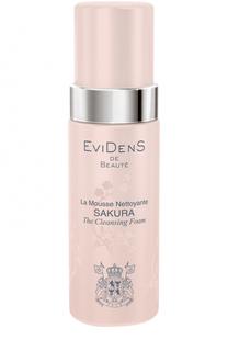 Очищающий мусс для сохранения молодости кожи Sakura EviDenS de Beaute
