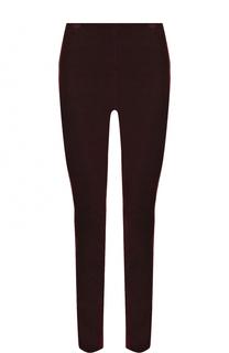 Однотонные бархатные брюки-скинни Theory