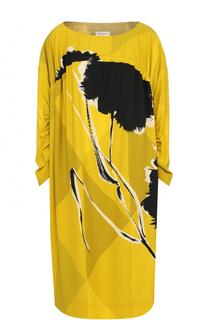 Платье-миди свободного кроя с принтом Dries Van Noten