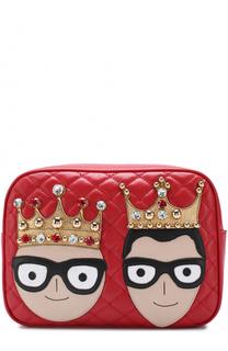 Сумка Glam с аппликациями Dolce & Gabbana