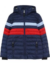 Стеганая куртка с контрастной отделкой Bogner
