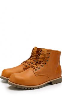 Кожаные ботинки Moscow на шнуровке Affex