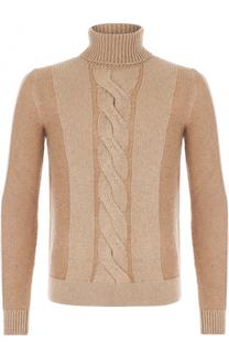 Шерстяной свитер с воротником-стойкой Loro Piana
